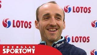 Robert Kubica przed startem sezonu F1
