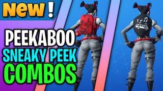 Best Peekaboo Style Combos  Fortnite