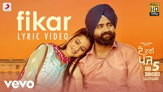 Fikar - Official Lyric Video | Rahat Fateh Ali Khan, Neha