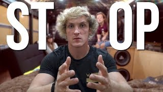 Two members of the Logang almost killed me.