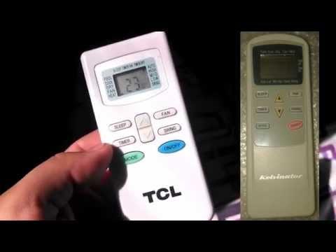 Configurar Control Remoto Aire Acondicionado a Frío - Calor