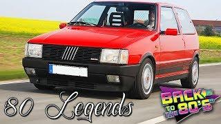 '80 LEGENDS | Fiat Uno Turbo, Peugeot 205 GTi, Renault 5 GT Turbo, VW Golf GTI Mk2, Alfa Romeo 75