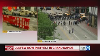 Arrests made after 2nd protest on Fulton St. near GRPD