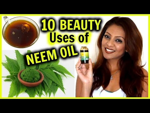 Video 10 Beauty Uses of NEEM OIL! │ Acne, Hair Growth & Frizz, Dark Spots, Blackheads, & More!
