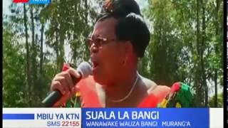 Wanawake wanaongoza katika uuzaji bangi Murang'a, naibu kamishna ateta