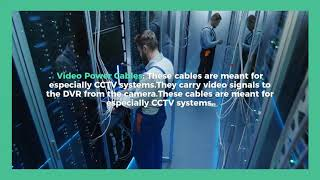Here are the types of Structured Cabling that use for security systems