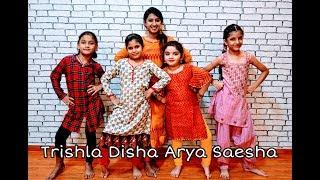 Gud Naal Ishq Mitha | Kids Choreography | Urvi Bhargava | HFATDT | Trishla Disha Arya Saesha
