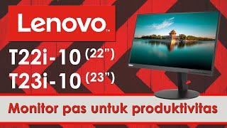 Lenovo Monitor 23 inch Think Vision T23i-10