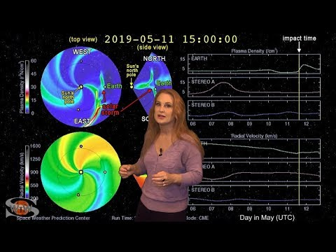 Solar Storm Forecast – May 09, 2019 at 06:58PM