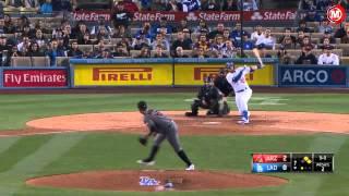 Marcador:Dodgers vencen a Arizona y se mantiene con una buena ofensiva.