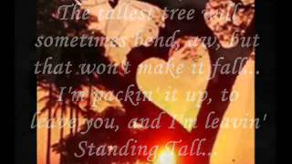 tanding Tall W Lyrics Lorrie Morgan Video