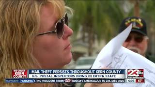 Mail theft persists throughout Kern County