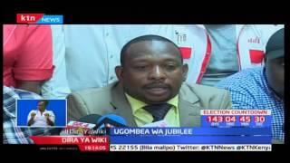 Seneta Mike Mbuvi Sonko awasilisha stakabadhi kwa chama cha Jubilee