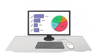 Анимационный рекламный ролик по бухгалтерским курсам для бухгалтерского центра ZHAE