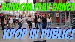 [KPOP IN PUBLIC] RANDOM PLAY DANCE CHALLENGE in TURKEY, IZMIR!