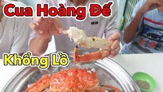 Lâm Vlog Cháy Túi Khi Ăn Thử Cua Hoàng Đế Khổng Lồ Giá Gần 5 Triệu Đồng 1 Con | Alaska KING CRAB