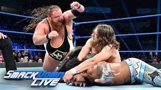 Xavier Woods vs. Otis vs. Daniel Bryan – Triple Threat Match: SmackDown LIVE, July 9, 2019