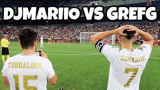 PIERDO EL PARTIDAZO DE YOUTUBERS | DJMARIIO VS GREFG