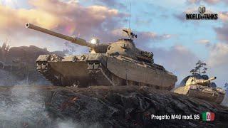 Танкосмотр2020 #48 Италия. Средние танки (веткa Progetto 65) | World of Tanks