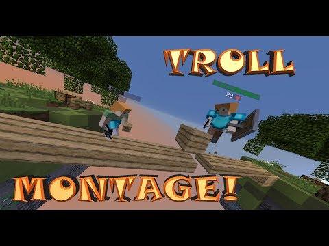 Skywars Troll Montage! - By RolixRedstone letöltés