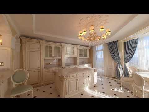 Продажа элитной квартиры с эксклюзивной отделкой и панорамными видами из окон