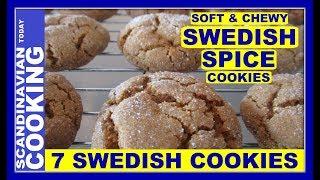 How To Make Swedish Spice Cookies 🍪Kryddkakor