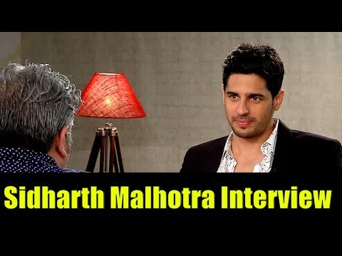 Sidharth Malhotra Interview by Rajeev Masand