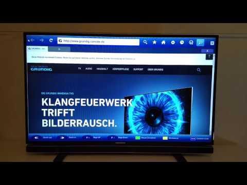 Smart TV Web Browser im Echtzeit-Test! Grundig 43 GFB 6621 Smart TV Open Web Browser App Testbericht