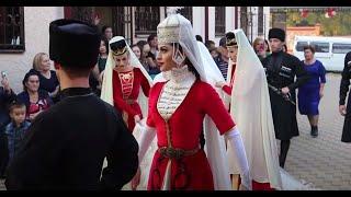 Вывод невесты. Свадьба Ульбашевых  Руслана и Мадины