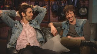 All-American Rejects on Corn Nipples and Feable Weiner - Tour Stories
