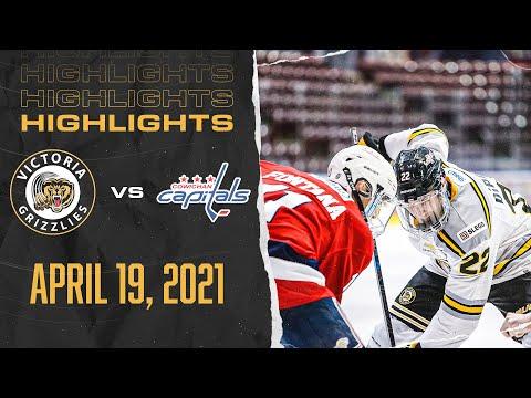 Grizzlies VS Capitals | April 19th | HIGHLIGHTS