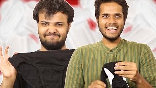 Men Wear Sanitary Pads For The First Time