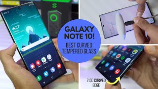 Galaxy Note 10+ BIGGEST PROBLEM Solved - BEST Tempered Glass for Galaxy Note 10/10+