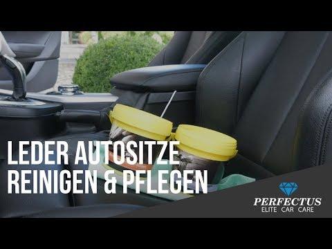 Lederpflege:Auto Ledersitze - Reinigen &Pflegen
