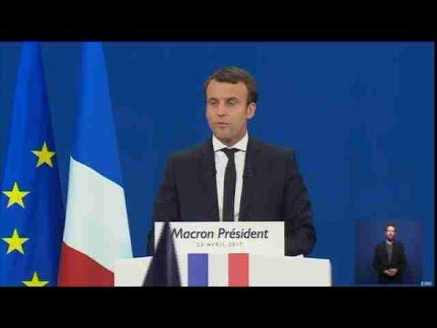 Le Pen y Macron a la segunda vuelta en elecciones de Francia