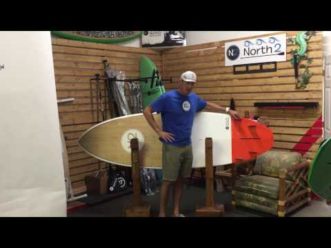 North 2 Boards, 8'6″ Sessions Surf SUP, Paddle Board Surfing, Board Review