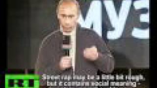 Putin joins hip-hop Battle for Respect