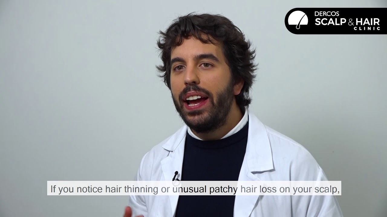 ¿Cuándo consultar con un médico la caída del cabello?