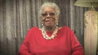 Maya Angelou Supports L.O.V.E.