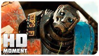 Первый бой Атома - Живая сталь (2011) - Момент из фильма