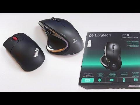 Logitech Performance Maus MX und Lenovo ThinkPad Mouse Bluetooth im Vergleich