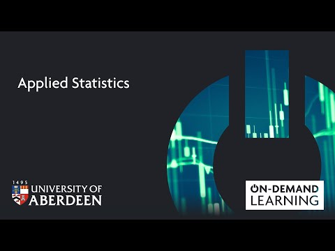 Applied Statistics - Online short course - YouTube