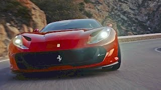 Ferrari 812 Superfast (2017) Features, Driving, Design [YOUCAR]
