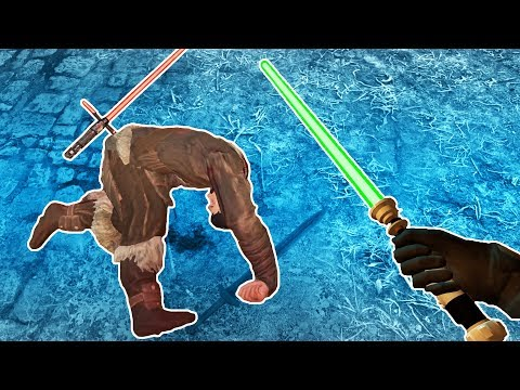 That's Not How You Hold a Lightsaber in Blade and Sorcery VR!