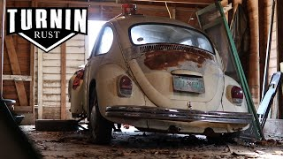 FREE 1968 Volkswagen Beetle Barn Find, Will It Run After 20 years?! | Turnin Rust