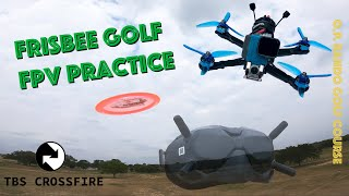 Frisbee Golf and Freestyle Practice | FPV DRONE | Bando Golf Course