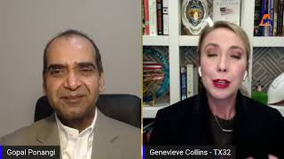 Interview with Genevieve Collins Congressional Candidate for Texas 32nd District.