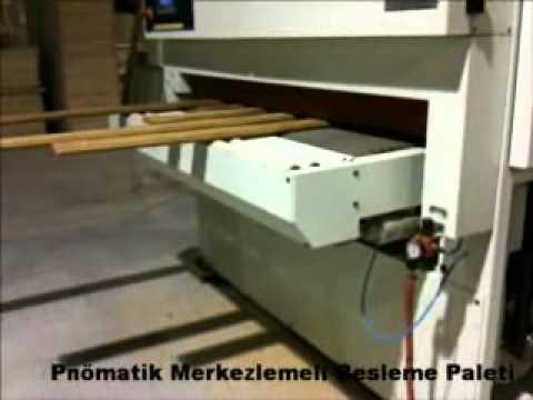 Calibrated Sanding Machines