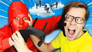 My Best Friend is Missing after Battle Royale with Drone