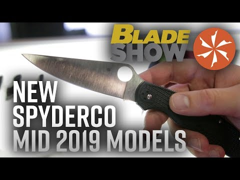 New Spyderco Knives at BLADE Show 2019: Knife Center